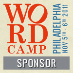 I'm Sponsoring WordCamp Philly 2011!